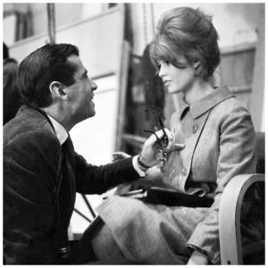 roger-vadim-directs-his-ex-wife-brigitte-bardot-in-the-1961-film-la-bride-sur-le-cou-please-not-now-paris-1960